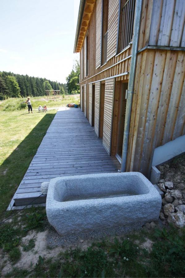 Haus Holzverschalung