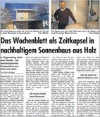 Klimapreis Regensburg - Zeitungsbericht